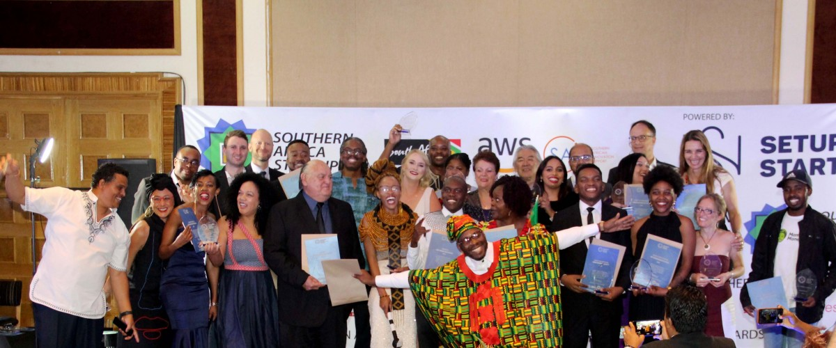 Innovation Role Players Gain Much-Deserved Recognition at the Southern Africa Startup Awards