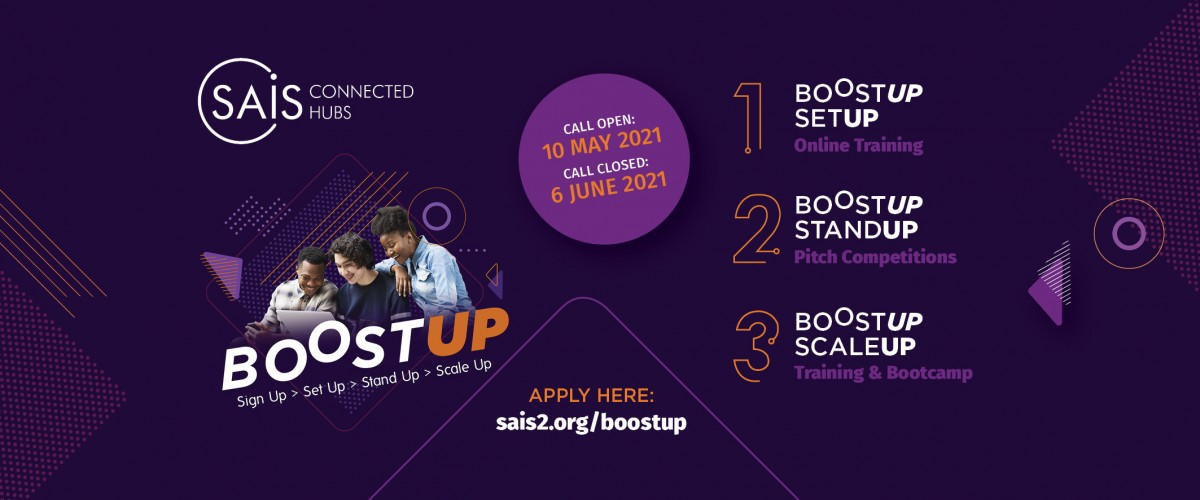BOOST UP 2021 Launches Call for Applications